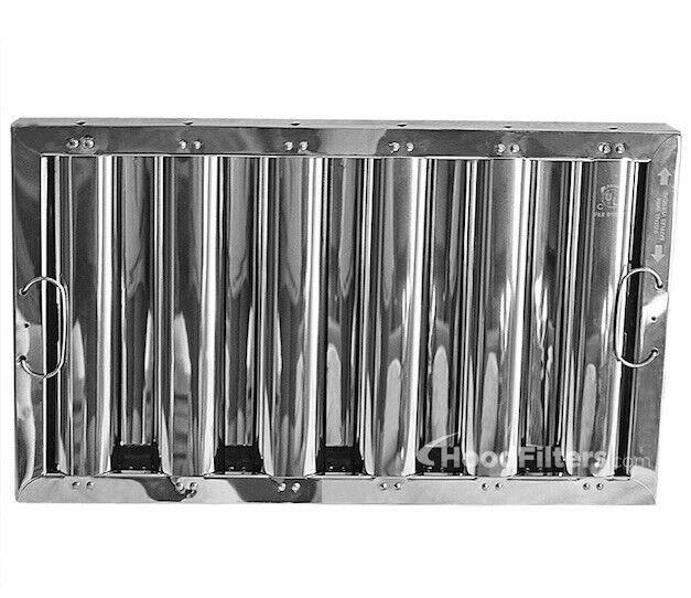 """12"""" X 20"""" X 2"""" Kleen Gard Stainless Steel Hood Filter"""