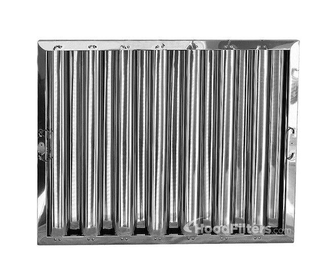 """20"""" X 25"""" X 2"""" kleen Gard Stainless Steel Hood Filter"""