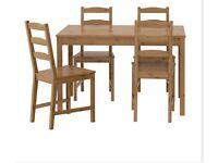 Ikea Jokkmokk Table and Chairs - Near Perfect Conditiony