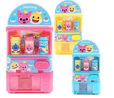 Pinkfong Baby Shark Family Vending Machine mini Toy 6*4.5*11.5cm 1p Random Color