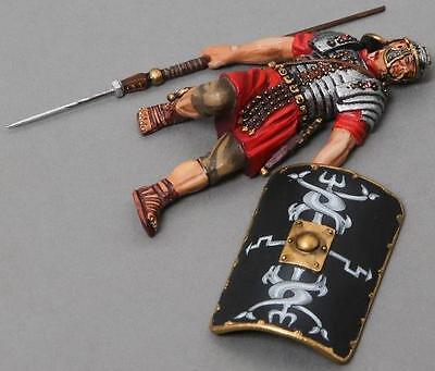 THOMAS GUNN ROMAN EMPIRE ROM009B DEAD 30TH LEGIONNAIRE BLACK SHIELD MIB