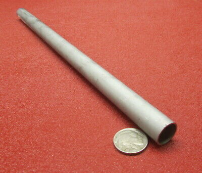 304 Stainless Steel Tube .625 Od X .569 Id X .028 Wall X 1 Foot Length