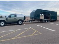 20ft Woodford tipping trailer