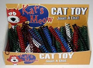 Cat toys Small koils, coils (100/box) Kitchener / Waterloo Kitchener Area image 1