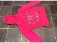 Lispy tracksuit original size 14 fuschia pink