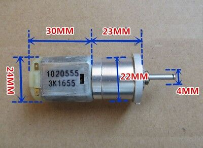 Micro 280 Planetary Gear Motor Dc 6v 12v 500rpm Large Torque Diy Robot Smart Car