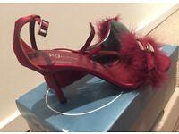 brand new size 5 Kg by Kurt Geiger red heels.