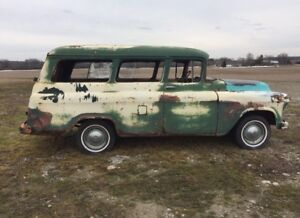 1955 Chevy Suburban Carry all $4500
