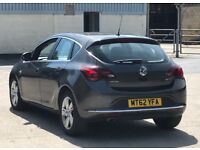 2013 Vauxhall Astra SRI 2,0 litre diesel 5dr automatic 2 owners
