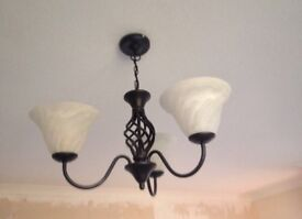 Cast Iron Ceiling & Wall Lights