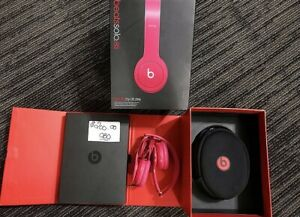 Pink Beat Head Phones