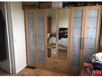 6 Door, 2 Draw Wardrobe