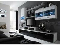 Quality CamaTop quality LOGO II Vertical wall cabinet unit storage high gloss front, BNIB