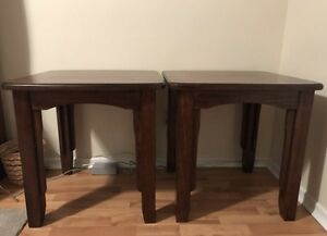 Matching set of side tables
