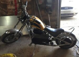 Weekend Sale Only! Chopper Motorcycle with Keys Like New