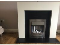 Electric fire and surround immaculate condition
