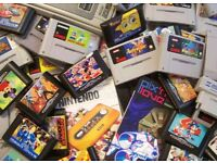 WANTED- old video games and consoles! Sega, snes, Nintendo, gameboy etc CASH ON COLLECTION