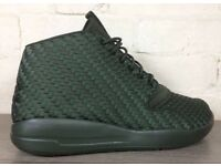 Jordan eclipse chukka size 11uk green mesh Nike men's trainer trainers shoes