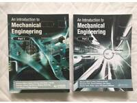 An Introduction To Mechanical Engineering Part 1 and Part 2 Bundle - RRP £100