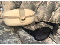 100% authentic women's D&G sunglasses