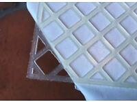 Mosaic Mesh Tile Plastic Backing Sheets High Grab Self Adhesive