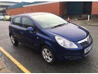 Vauxhall Corsa 1.2L petrol, 12 months mot,