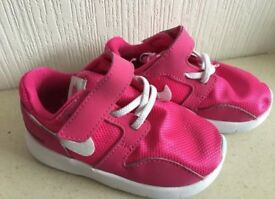 Nike Pink Infant Trainers Size 5.5