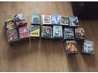 Job lot 146 dvds
