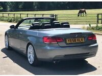 2009 BMW 3 Series 3,0 325d M Sport convertible 2dr automatic 2 owners
