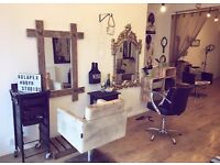 Rent a Chair opportunity in a salon in Sale Manchester. Hairdresser Hairsylist self employed jobs