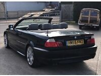 2005 BMW 3 Series 3,0 litre diesel convertible FSH M Sport