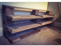 Shoe Rack - Upcycled From Wooden Pallets