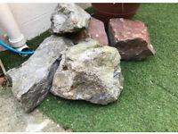 Large garden rocks / rockery