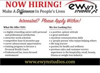 Offering full time and part time employment