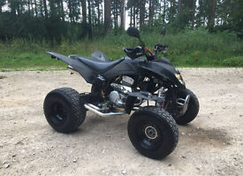 BREAKING QUADZILLA 300 XLC 320 CVT ROAD LEGAL QUAD PARTS ETC!