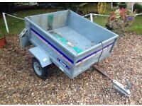 Trailer franc 4 by 3 in good condition