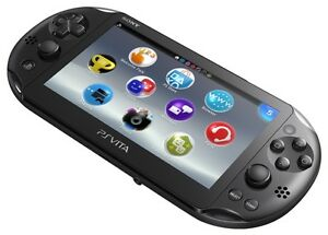 PS Vita Slim with 4GB memory card and game.