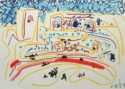 Pablo Picasso - Original Offset Mourlot Lithograph from Toros y Toreros, 1961