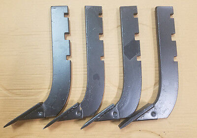 Lot Of 4 --replacement 3-slot Howse Box Blade Shank 16 Part  B-710-n Bsxeb48