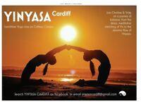 Lunchtime yoga class combining vinyasa flow & yin yoga