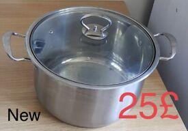 Pot big large