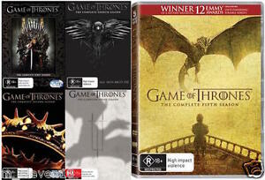 Game Of Thrones : Seasons 1 2 3 4 5 : NEW DVD