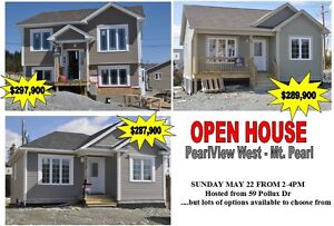 OPEN HOUSE - PearlView West - Mt Pearl