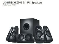 Speaker 5.1 System with subwoofer Logitech in great condition - £50