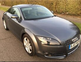 Audi tt 2.0l tfsi coupe, 94850 miles, fsh, full leather interior, lovely to drive, reluctant sale