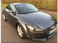Audi tt 2.0l tfsi coupe, 130,000 miles, fsh, full leather interior, lovely to drive, reluctant sale