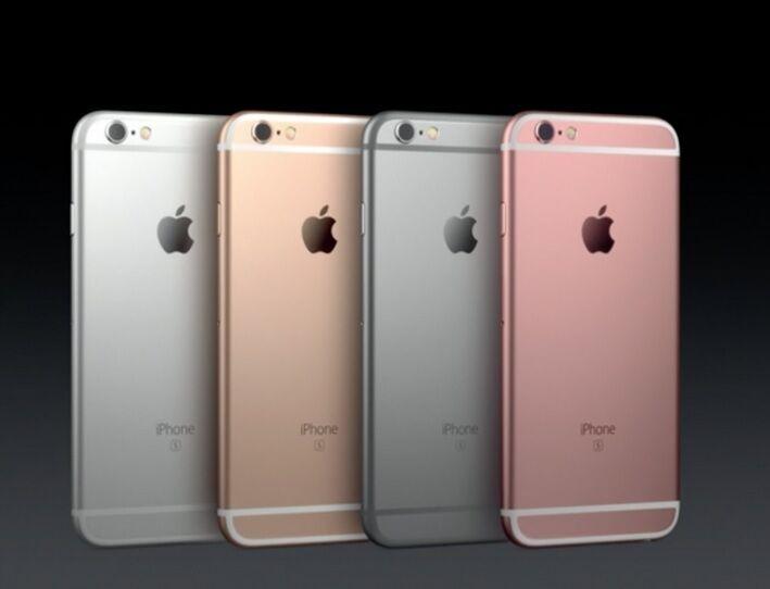 """סמארטפון מוחדש ! Apple iPhone 6s- 16GB 64GB 128GB GSM """"Factory Unlocked"""" All Colors"""