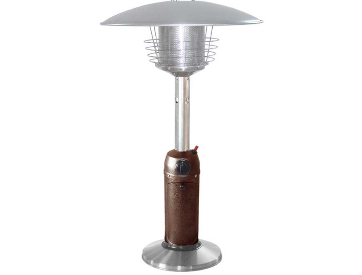 AZ Patio Heaters HLDS032-BB Portable Stainless Steel Heater,