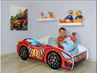 Toddler car bed (brand new)