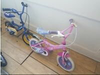 2x Toddler Bike's